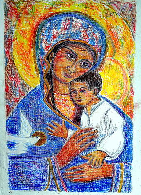 Painting - Madonna And Child by Sarah Hornsby