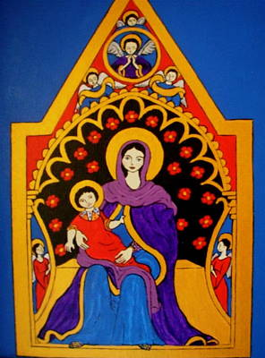 Painting - Madonna And Child by Stephanie Moore