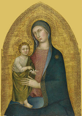 Painting - Madonna And Child by Taddeo di Bartolo