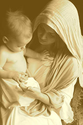 Photograph - Madonna And Child by Vienne Rea