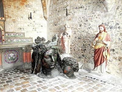 Madonna Bronze Casting Art Print