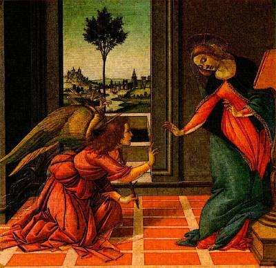 Digital Art - Madonna Cestello  by Sandro Botticelli