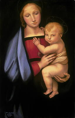 Painting - Madonna Del Granduca by Rebecca Poole