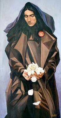Madonna Art Print by Ixchel Amor