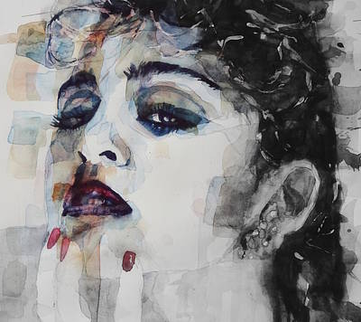 Portrait Mixed Media - Madonna  Like A Prayer by Paul Lovering