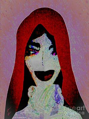 Mixed Media - Madonna Mary by Ann Calvo
