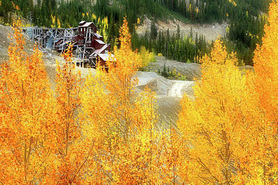 Photograph - Madonna Mine - Monarch Pass - Colorado by Jason Politte
