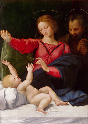 Family Painting - Madonna Of Loreto by Raffaello Sanzio