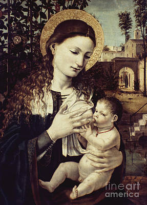 Photograph - Madonna Of The Milk by Granger