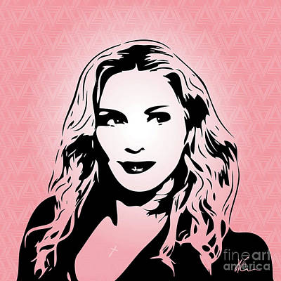 Madonna Digital Art - Madonna - Pop Art by William Cuccio aka WCSmack