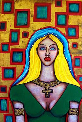 Painting - Madonna-putana by Brenda Higginson