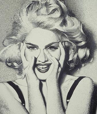 Madonna Art Print by Randy Ford