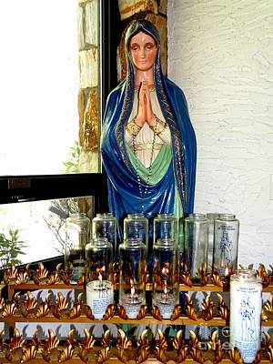 Photograph - Madonna Shrine by Ed Weidman