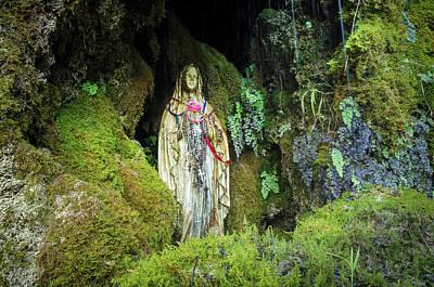 Photograph - Madonna Tears, Sicily, Italy by Alfio Finocchiaro
