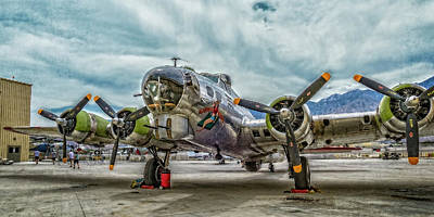 Photograph - Madras Maiden B-17 Bomber by Sandra Selle Rodriguez