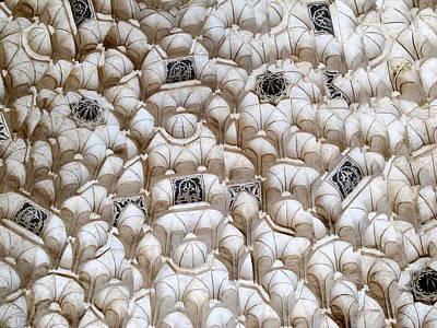 Madrasa Photograph - Madrasa Tiles by Cindy Kellogg