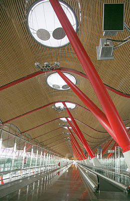 Photograph - Madrid Airport T4 by Elvira Butler
