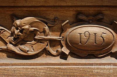 Detalhes Photograph - Madrid Door 1 by Eduardo Moreira