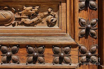 Detalhes Photograph - Madrid Door 2 by Eduardo Moreira
