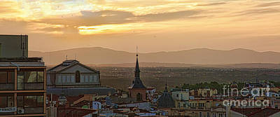 Photograph - Madrid Mountain View by Casper Cammeraat