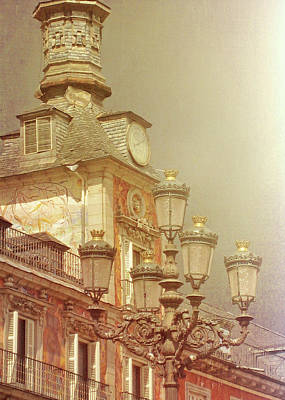 Madrid Thunder Art Print by JAMART Photography