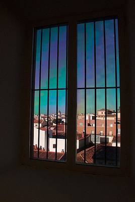 Photograph - Madrid Trough A Window by David Resnikoff