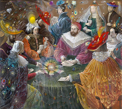 Puzzle Painting - Madrigal by Annael Anelia Pavlova