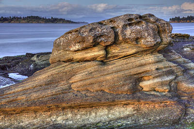 Photograph - Madrona Sandstone by Randy Hall