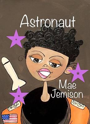 Painting - Mae Jemison by Deborah Carrie