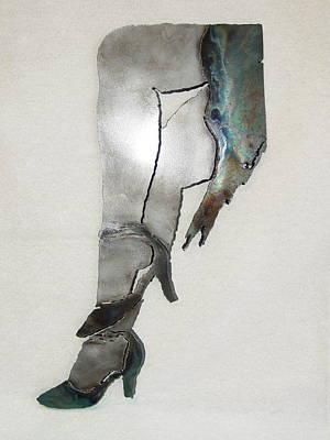 Mae Sold Art Print by Steve Mudge