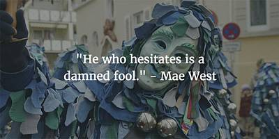 Photograph - Mae West Quote by Matt Create