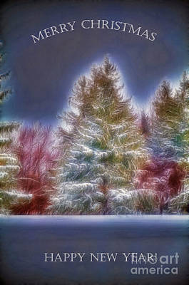 Photograph - Merrry Christmas And Happy New Year by Jim Lepard