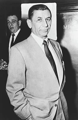Photograph - Mafia Boss Meyer Lansky 1957 by Library Of Congress