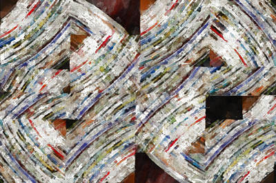 Photograph - Mag 6 Abstract Painting by Edward Fielding