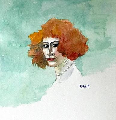 Painting - Magda by Ray Agius