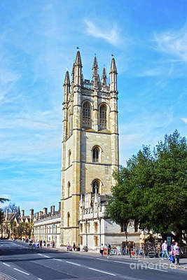 Photograph - Magdalen College Chapel, Oxford by Terri Waters