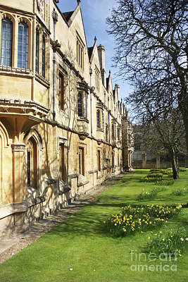 Photograph - Magdalen College Oxford by Terri Waters