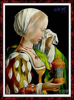 Magdalen Weeping  Original