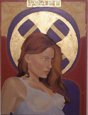 Painting - Magdalene by Stephen Panoushek