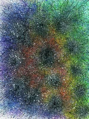 Chakra Rainbow Painting - Magellanic Clouds #463 by Rainbow Artist Orlando L aka Kevin Orlando Lau