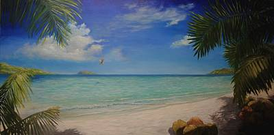 Painting - Magens Bay by Alan Zawacki