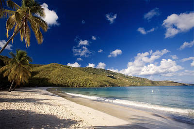 Magens Bay Morning St Thomas Us Virgin Islands Art Print by George Oze
