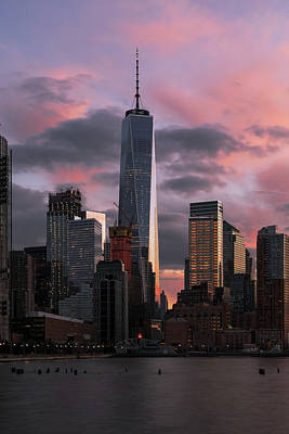 Photograph - Magenta Skies by Anthony Fields