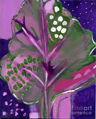 Painting - Magenta Spreen by Olivia  M Dickerson