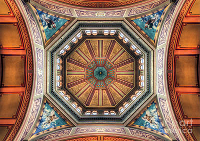 Photograph - Magestic Architecture - The Grand Dome by Ray Warren