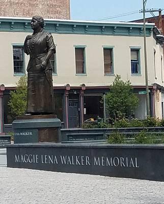 Photograph - Maggie L. Walker by Otis L Stanley