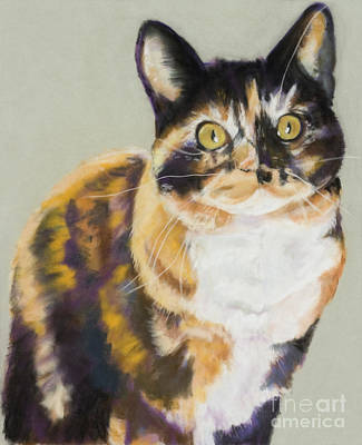 Maggie Mae Art Print by Pat Saunders-White