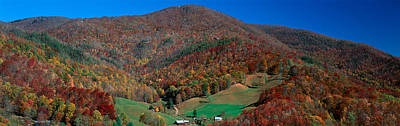 Maggie Valley Photograph - Maggie Valley, Great Smokey National by Panoramic Images