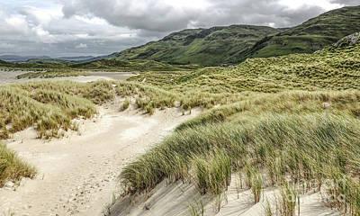 Photograph - Maghera Beach Sand Dunes Ireland by Lexa Harpell