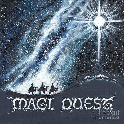 Drawing - Magi Quest by Scott and Dixie Wiley